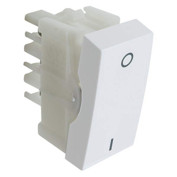 Interruptor Bipolar Simples 10A 85014 Bianco / Inova Pró Alumbra