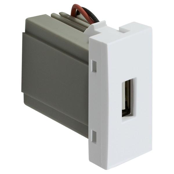 Tomada USB 85070 Bianco / Inova Pró Alumbra