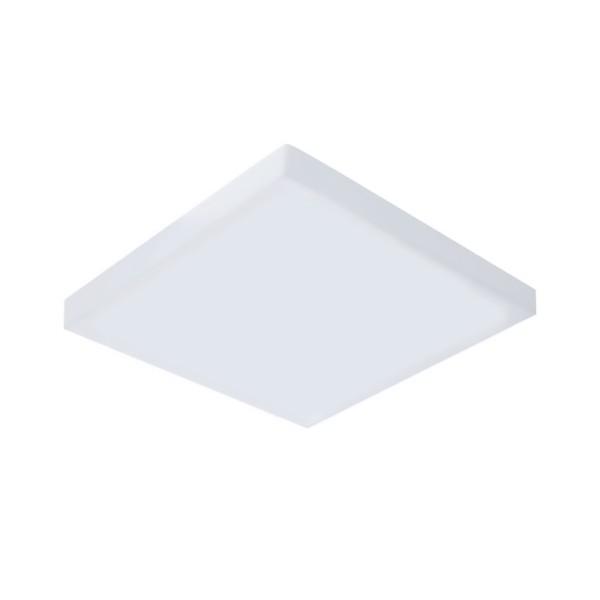 Plafon de LED Sobrepor Mini Borda 9x9cm Quadrado 8W Branco Frio