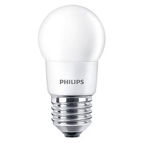 Lâmpada LED Bulbo Bolinha 3,5W Bivolt Branco Quente Philips