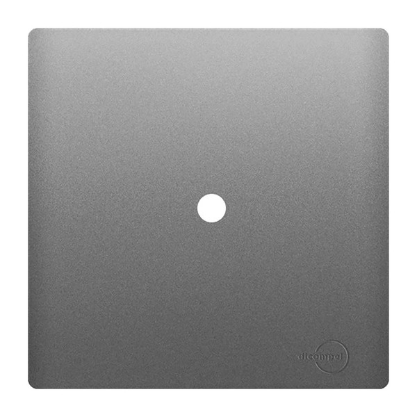 Placa 4x4 com Suporte para 1 Saída de Fio AC1500/45 Dicompel