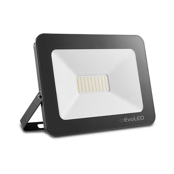 Refletor de LED 50W Branco Frio Evoled