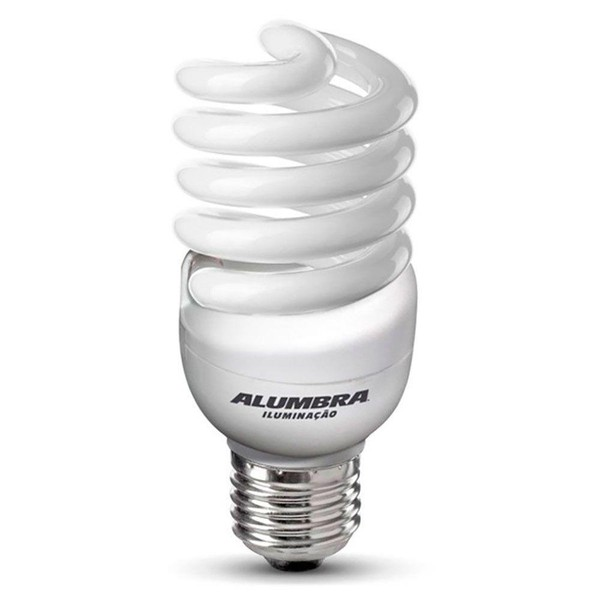 Lâmpada Fluorescente Mini Espiral T2 20W Alumbra Iluminação