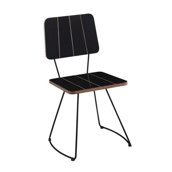 Cadeira Costela Meia Lua Preto Daf