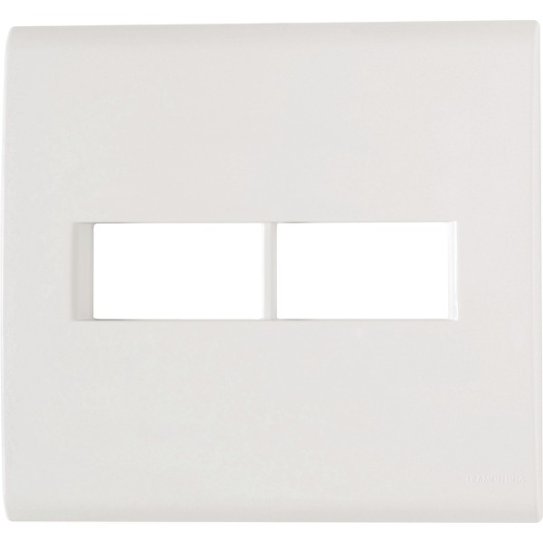 Placa 4x4 com Suporte para 2 Módulos 57106/023 Tramontina