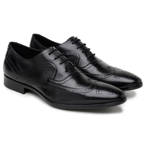 Sapato Social Preto 6540