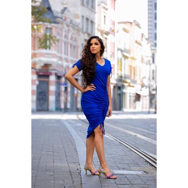 Vestido Rebeca Azul- JP