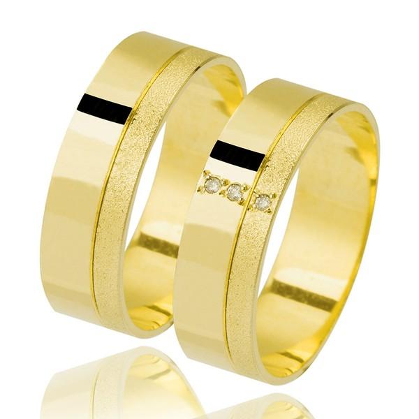 Alianças de Casamento Coromandel 6mm