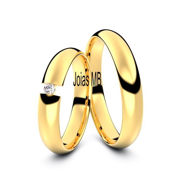 Alianças de Casamento Miguel Pereira 5mm