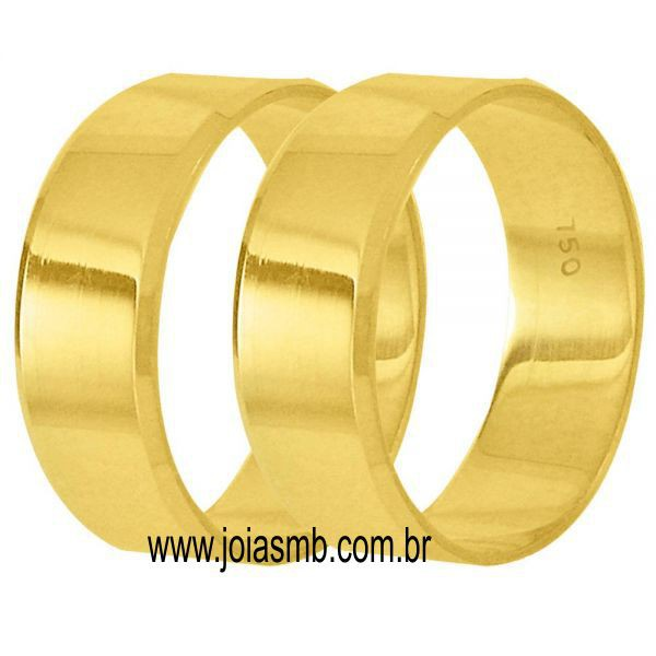 Alianças de Casamento Kobe 6mm