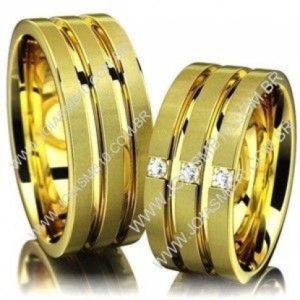 Alianças de Casamento Novo Gama 10mm