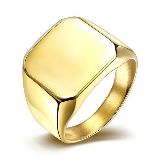 Anel de Ouro Masculino Manaus