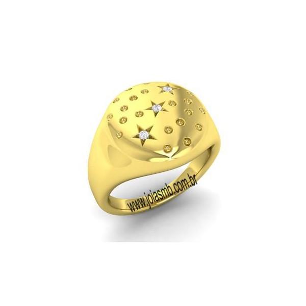 Anel de Ouro Masculino Ananindeua