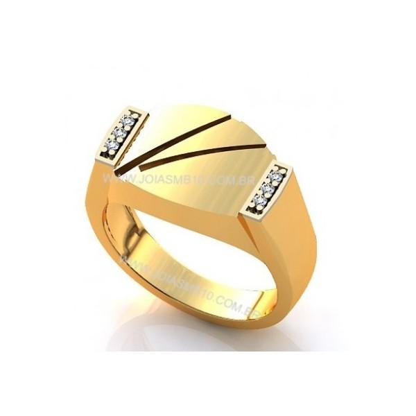 Anel de Ouro Masculino Betim