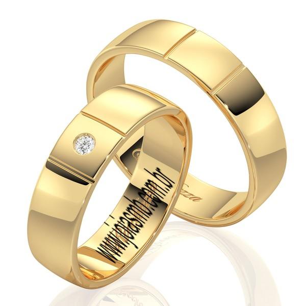 Alianças de Casamento Dallas 5mm