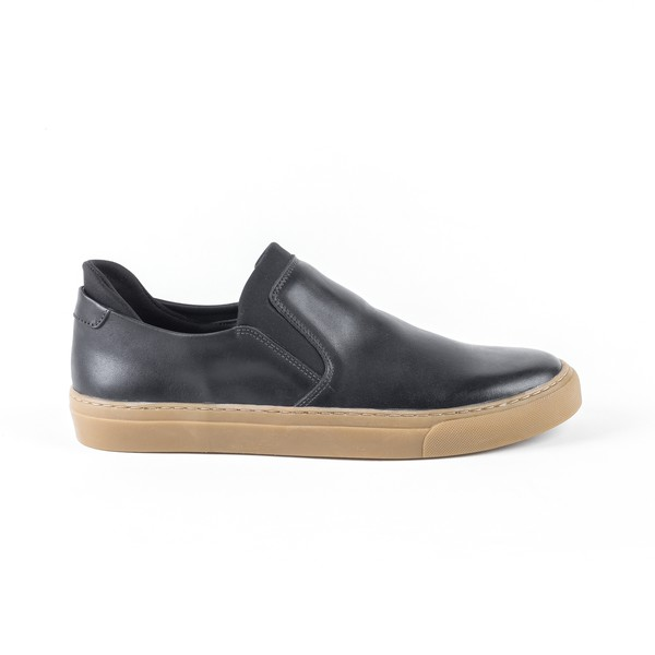 Casual Ravena Preto Slip On Neoprene