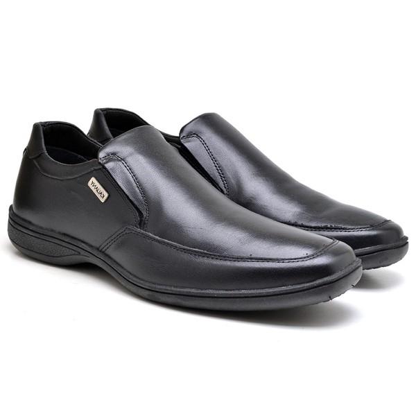 Sapato Confort Masculino em couro