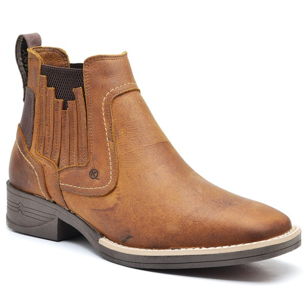 Bota Country Masculina Couro 7100 Fossil Tam