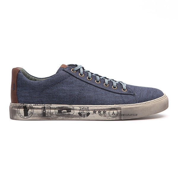 Tênis Casual Masculino Henry - Azul Jeans