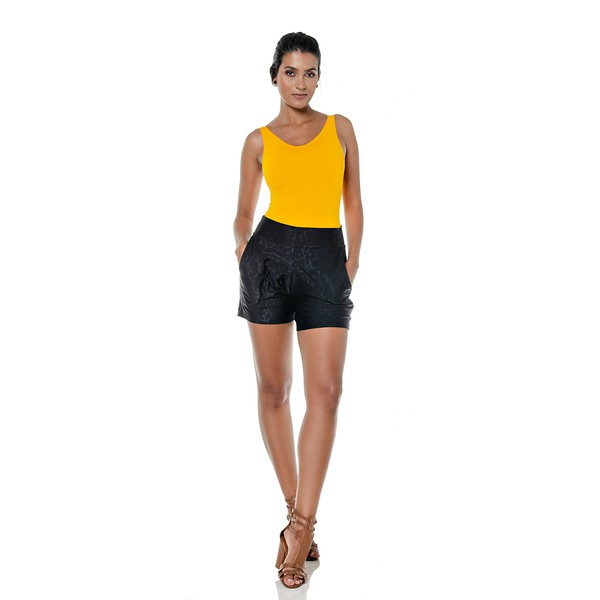 Short larulp saigon pocket jogger 10037 - PRETO