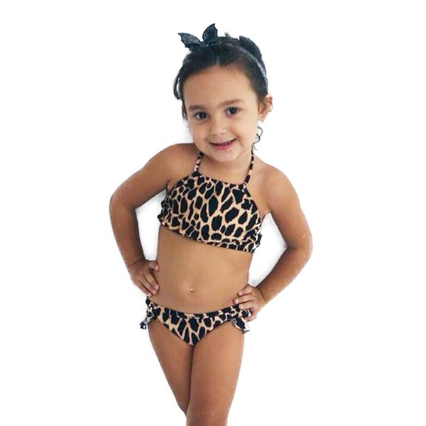 Leopard Print - Biquíni Infantil