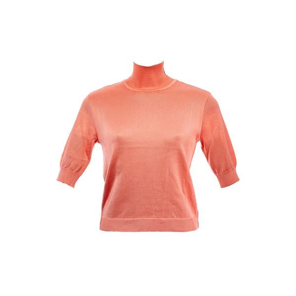 Blusa Liza Tricot Rayon Coral