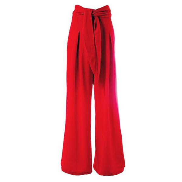 Donna - Calça Pantalona Luma Vermelha
