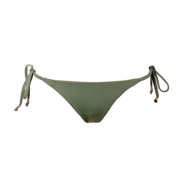 Colors Verde Militar - Calcinha Amarração
