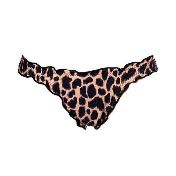 Leopard Print - Calcinha Ripple Inteira