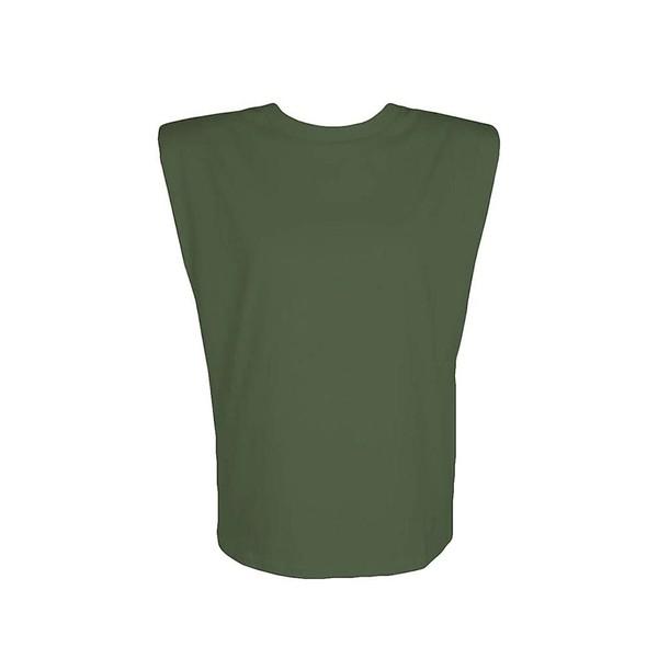 Regata Muscle Verde Militar