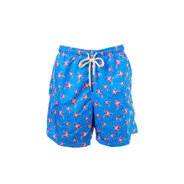 Beija-Flor Azul - Shorts Adulto