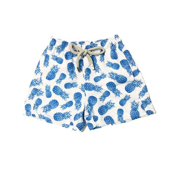 Abacaxi Azul - Shorts Infantil