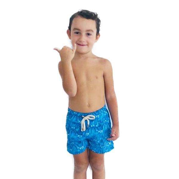 Azulejo Marroquino - Shorts Infantil