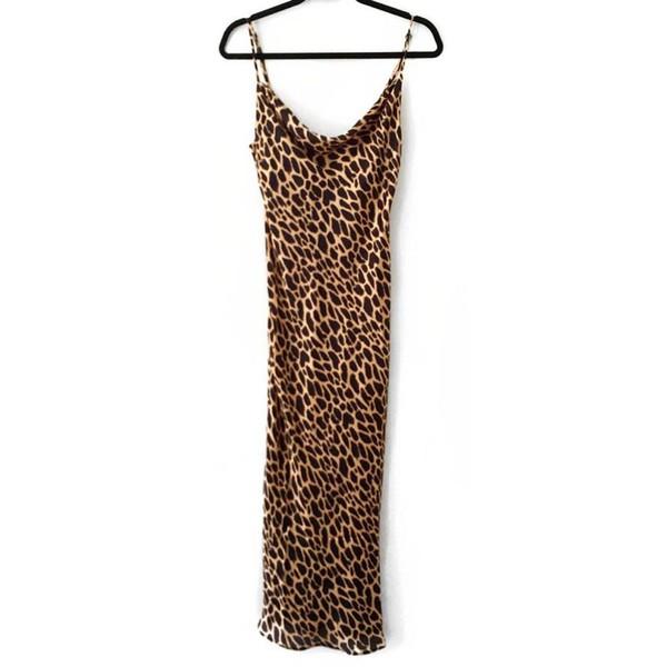 Leopard Print - Sleep Dress