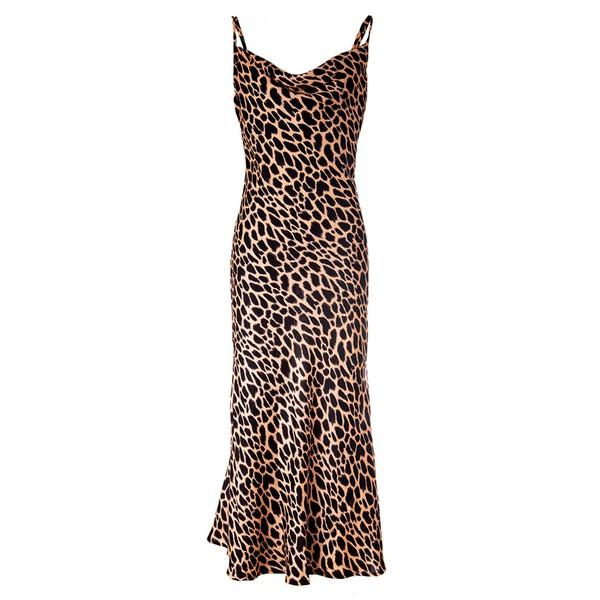 Slip Dress Leopard Print