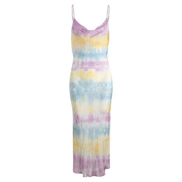 PRÉ VENDA - Slip Dress Tie Dye Violeta