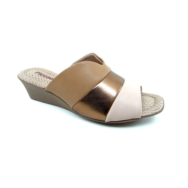 Tamanco Feminino Piccadilly Tan - 153010