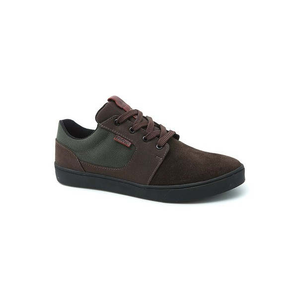 Tênis Landfeet Lion - Brown Militar