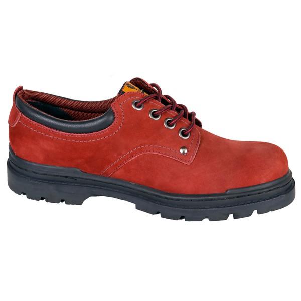Sapato Adventure Preto Liso com Cano baixo em Couro Bovino.