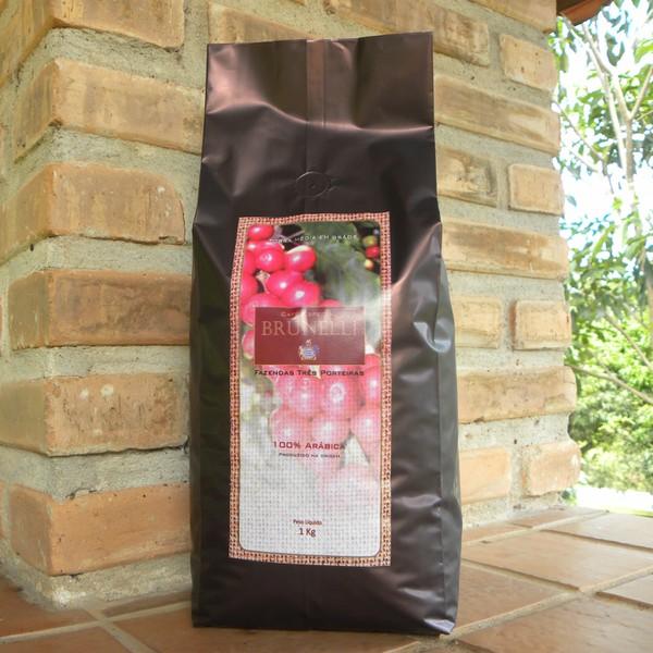 Café Brunelli - Torrado em Grãos - 1Kg