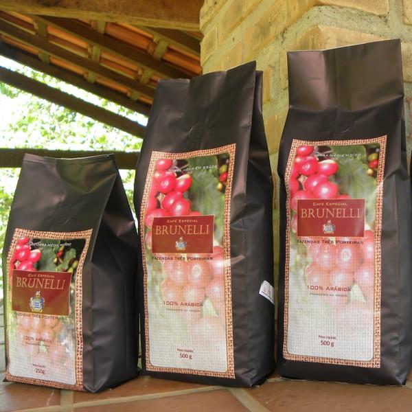 Café Brunelli - Torrado e Moído - 500g