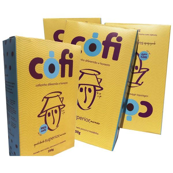 Café Cófi moidinho 84 pontos cerrado mineiro – 1 Kg