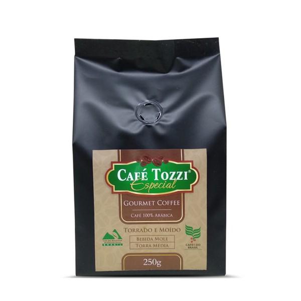 Café Tozzi Gourmet - Café torrado e Moído - 250g