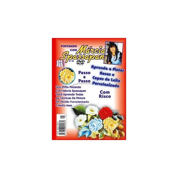 DVD Pintando Com Márcia Spassapan Edição 05