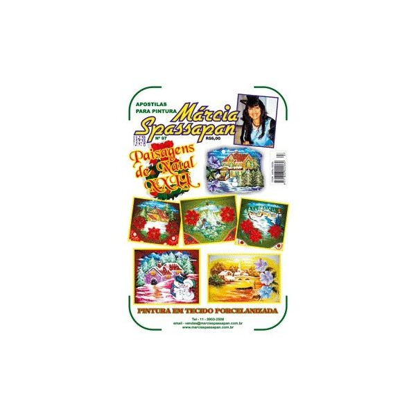 Apostila Para Pintura Natal Edição 97