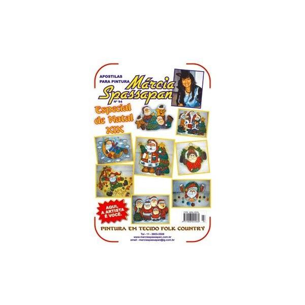 Apostila Para Pintura Natal Edição 94