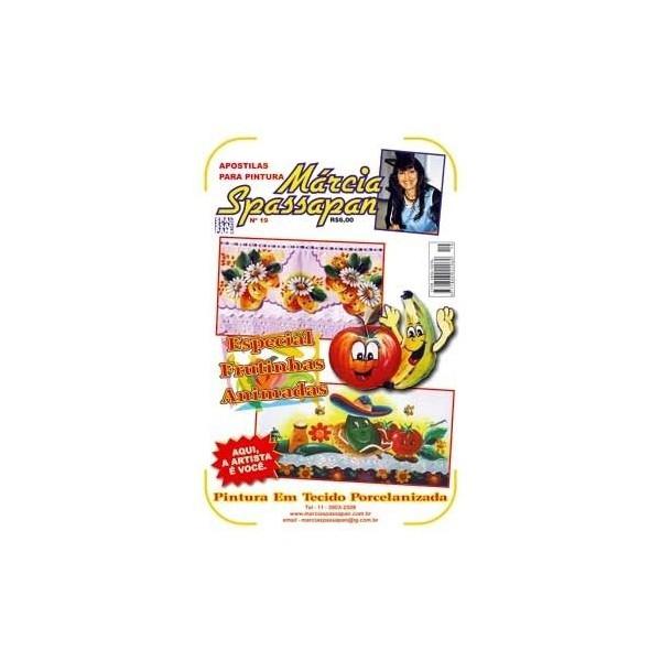 Apostila Para Pintura Frutas Edição 19