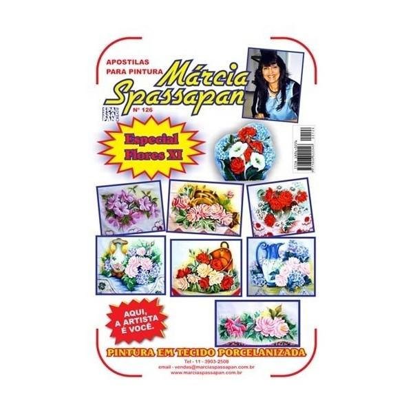 Apostila Para Pintura Flores Edição 126