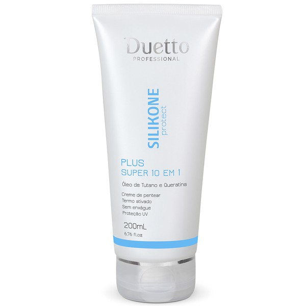 Creme Silikone 10 Em 1 Plus Duetto 200ml