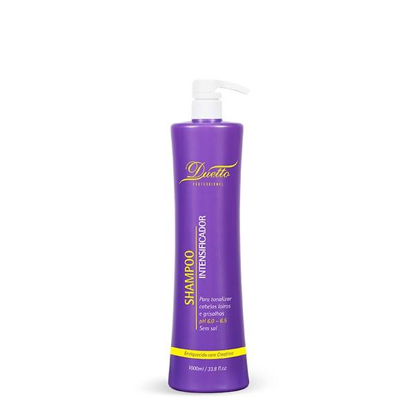 Shampoo Intensificador - Cabelos Loiros e Grisalhos Duetto 1 L